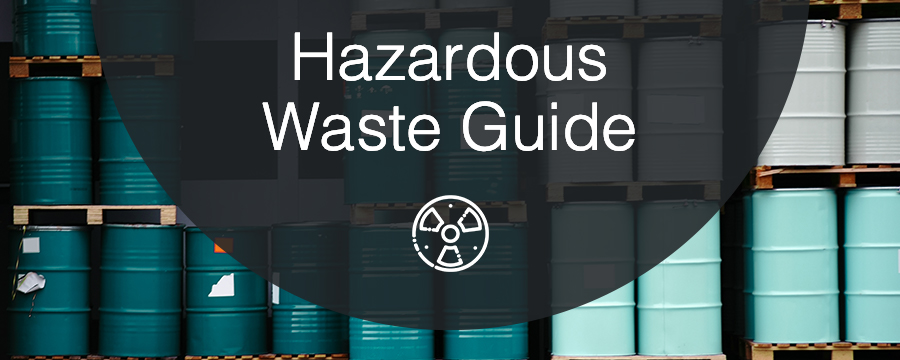 Hazardous Waste Guide with barrels